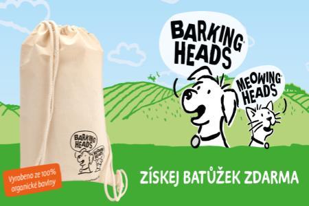K nákupu Barking Heads batůžek zdarma