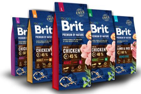 Granule Brit Premium by Nature Adult skilogramy navíc
