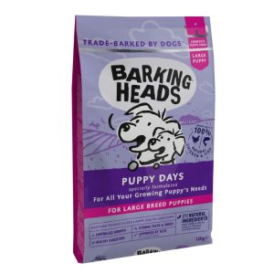 granule Barking Heads Puppy Days Large Breed