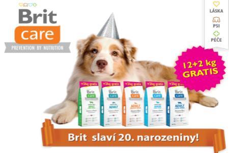 Granule Brit Care 12+2Kg navíc