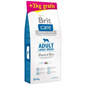 granule brit-care-adult-large-breed-lamb-rice-12-2kg-zdarma-original