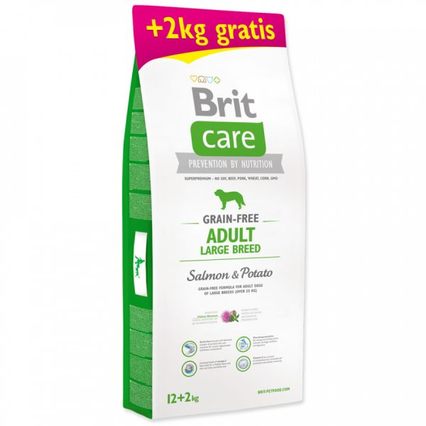 granule brit care adult salmon potato
